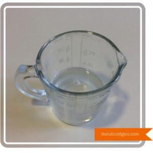 Mezcla de Agua y Potasa