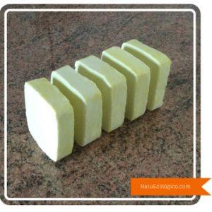 Jabón con Aceite Reciclado Cortado