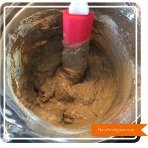 Mezclando con Arcilla Verde y Bicarbonato